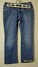 candies girls size 0  jeans 5 pocket stretch straight leg 29 in waist 32 in L