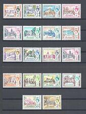 More details for bermuda 1962/68 sg 163/79 mnh cat £40