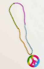 Generation Hippie Peace Beads - Necklace Accessory