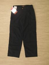 Tru-Spec 24-7 Series Navy Blue Cotton Blend Cargo Pants Mens Size 30x36 Rip Stop