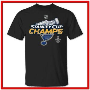 Men's St Louis Blues 2019 Stanley Cup Champions Locker Room T-Shirt S-2XL