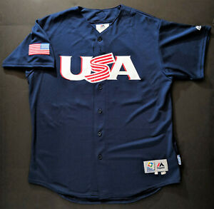 ANDREW MCCUTCHEN 2017 Team Issued USA World Baseball Classic Jersey Phillies WBC