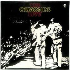 The Osmonds - Live - LP Vinyl Record