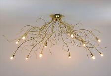 illuminazione camera da letto salone lampadario plafoniera moderna oro classico