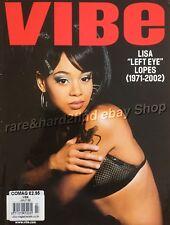 Lisa 'LEFT EYE' Lopez VIBE Magazine July 02 RARE Vintage URBAN Music & Lifestyle