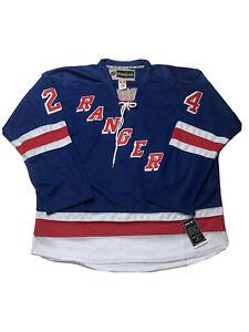 NWTS Reebok New York Rangers Oscar Lindberg Hockey Jersey # 24 SZ 56 CCM CANADA