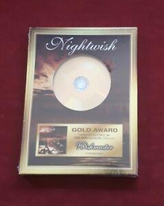 Nightwish - Wishmaster (CD Gold Award, Nr. 217, Neu, OVP) Tarja Wacken Rammstein