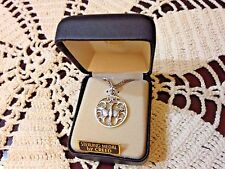 """CREED NEW """"Pierced Holy Spirit"""" STERLING SILVER Medal 18"""" Chain  Boxed SS9001"""