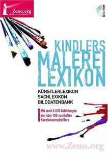 Kindlers Malerei Lexikon mit 5.000 Abb. Künstlerlexikon DVD Zeno Band 10
