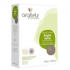 Poudre Argile Verte ARGILETZ 300G Pour Masque De Visage Cataplasmes