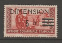 France Africa Colonies fiscal revenue stamp 7-11-20- mint - some gum present