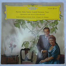 Pierrette Alarie & Leopold Simoneau - Opera Recital DGG Tulips LPM 18593 VG++