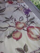 P. Kaufmann Fabric Autumn pears plums vines 3.5 yards x 1.3 yards cushions Craft