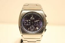 "BEAUTIFUL 39MM MASSIVE STAINLESS STEEL MEN'S QUARTZ CHRONOGRAPH WATCH""LOTUS"""