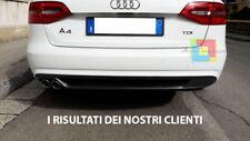 AUDI A4 B8 AVANT BERLINA 2012-2015 LIFT DIFFUSORE POSTERIORE DESIGN SLINE .-
