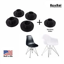4 Chair Glides Replacement of Eames Eiffel Style Furniture Feet