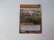 Carte Dinosaur King Tremblement de Terre Suprême Combat Titanesque !!!