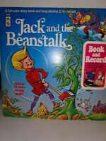 Book and record LP Jack and the Beanstalk by Peter Pan records