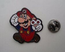 "Nintendo Super Mario Run 1992 RARE VINTAGE 1.25"" smaltato in metallo pin badge pin NES"