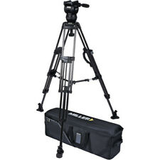 Miller CX2 Head and 75 Sprinter II Carbon Fiber Tripod, Mid-Level Spreader 3715