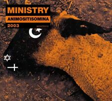 MINISTRY - ANIMOSITISOMNIA (RE-RELEASE,DIGIPAK)   CD NEUF