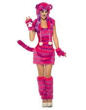 Cheshire Cat Womens Adult Alice In Wonderland Halloween Costume-Std