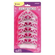 Coronas y tiaras color principal rosa para disfraces y ropa de época