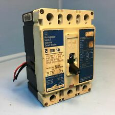 Westinghouse FDB3020L 20A Circuit Breaker w/ Aux FDB3020 3P 20 Amp dirty label