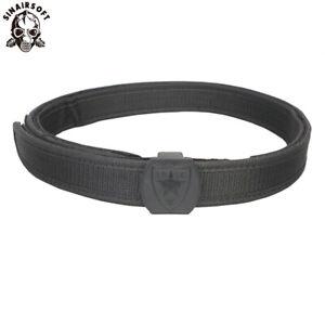 IPSC USPSA IDPA Shooting Competition Belt High Speed Shooting Belt 1.5inch Black