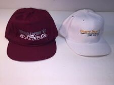 Caterpillar Collectible Vintage Mining Forum '92 and Quarry Days '97 Hats
