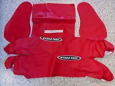 Kawasaki 650-sx Jet-Ski Hydro-Turf Side Pad Rail Cover Kit sew65k Red In Stock