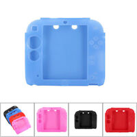 For Nintendo 2DS 1 Pc Silicone Gel Rubber Game Controller Case Cover Skin Soft