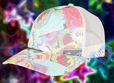 New Billabong Heritage Mashup Women Classic Logos Trucker Snapback Cap Hat