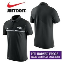 NIKE Texas Christian University TCU Horned Frogs POLO Shirt Men's Large NEW +TAG