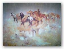 Rain George Dick Art Print 16x21