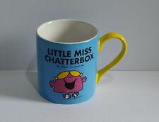 Mr Men Little Miss Chatterbox Mug - Chatting Makes You Feel Good.