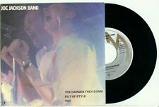 JOE JACKSON BAND - the Harder They Come (1980) - DUTCH 3-Track PS 7""