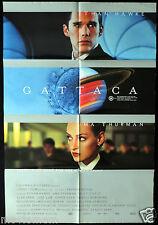 GATTACA Ethan Hawke ORIGINAL One Sheet Movie poster Sci Fi Uma Thurman