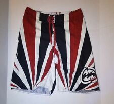 Men's Bilabong Board Shorts Size 30 tri-color with wax comb included Andy Irons