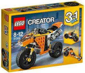 LEGO Creator Sunset Street Bike (31059)~Creator Kit 3-in-1~New & Sealed