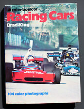 All Color Book of: RACING CARS by BRAD KING - Great Collectable book - Excellent
