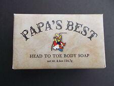 Papa's Best Antifungal Tea Tree Oil Soap For Athletes Foot Jock Itch Acne 4.4 Oz