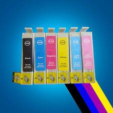 6 Ink Cartridge Rplace for Epson STYLUS PHOTO 1400 1410 1500w PX730WD PX830FWD 2