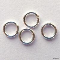 New 19mm 24ga 925 Sterling Silver Eyepins 24pcs