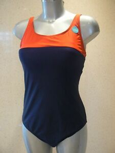 M&S Active Sports Swimsuit Secret Slimming Swimming Costume Size 8 - 14 NEW