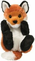 Plush RED FOX LIL' HANDFUL Stuffed Animal - by Douglas Cuddle Toys - #14376