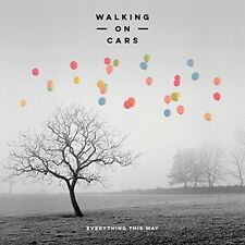 Walking on Cars - Everything This Way [New CD]
