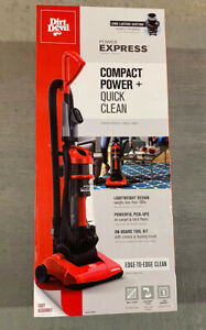 New Dirt Devil Vacuum Power Express Compact Bagless Upright Lightweight Powerful