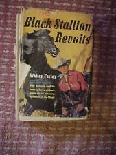 1953 Book The BLACK STALLION REVOLTS,   HORSE SERIES by FARLEY