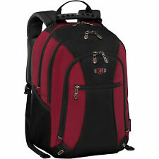 "SwissGear Skywalk Double Gusset 16"" Padded Laptop Backpack Crimson Tide"